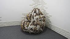 """Кресло Груша """"Print 4"""", фото 3"""