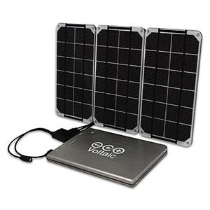 Солнечная батарея для ноутбука (20000 мАч + 10Вт солн. панели)