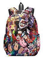 Рюкзак GeekLand Гравити Фолз Gravity Falls все герои 13.Р