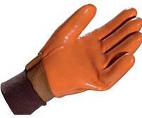 Перчатки ХБ облитые ПВХ утеплённые