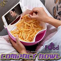 """Тарелка с подставкой под телефон - """"Compact Bowl"""""""