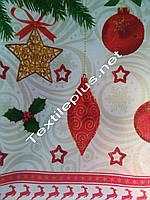 Скатерть Новогодняя лен Терасполь
