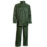 Костюм дождевик непромокаемый (куртка-брюки) ПВХ зеленый