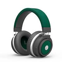 Наушники накладные с микрофоном беспроводные Promate Astro Green (astro.green)