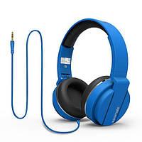 Наушники накладные с микрофоном Promate Encore Blue (encore.blue)