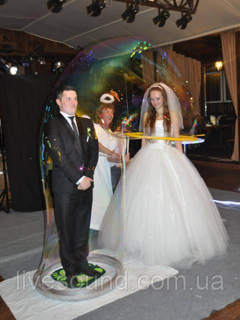 Шоу мыльных пузырей: Ангелы - live-sound в Киеве
