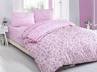 Полуторное постельное белье Brielle 700 V2 Pink Ранфорс
