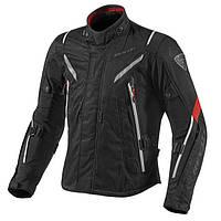"""Куртка REV'IT VAPOR  текстиль black\red """"XXL"""", арт. FJT183 1200"""