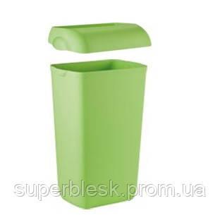 Корзина для бумажных полотенец, зеленая, 23 л.