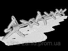 Колючая проволока оцинкованная Ф1,8мм (130м/п)