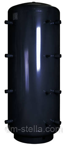 Буферная емкость (теплоаккумулятор) 1000 литров, Ø 1215 мм, сталь 3 мм, фото 2