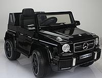 Электромобиль (T-7911 Mercedes G63 AMG BLACK) джип на р.у. 12V7AH мотор 2*35W с MP3 126.5*73*64.5