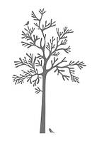 Декоративные наклейки, дерево  MOSSEN