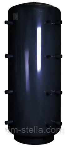 Буферная емкость (теплоаккумулятор) 3830 литров, Ø 1215 мм, сталь 3 мм, фото 2