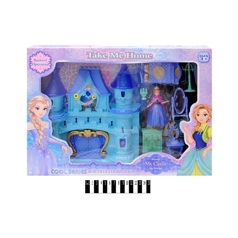 Замок Фроузен Frozen (Холодное сердце) со звуковыми и световыми эффектами, 29003