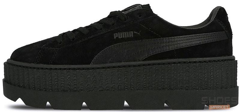 promo code 73dfc fcd4f Женские кроссовки Puma x Fenty Cleated Creeper Suede Black 366268 04
