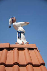 Лунатик керамический Белая рубашка