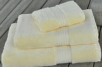 Махровое полотенце 50х90 бамбук/хлопок London BUTTER CASUAL AVENUE сливочное