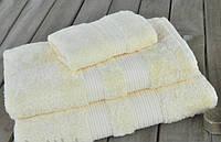 Махровое полотенце 30х50 бамбук/хлопок London BUTTER CASUAL AVENUE сливочное