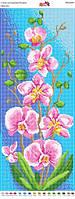 Панно ПМ 4009  Орхидея полная зашивка