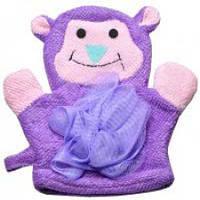 Мочалка рукавичка детская ЖИВОТНЫЕ