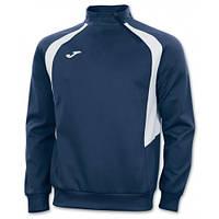 Реглан т. сине-белый Joma CHAMPION III 100019.302 тренировочный с коротким замком (спортивная кофта )