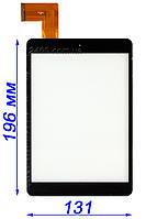 Сенсор - тачскрин для Bravis NP844 планшета (черный) MF-637-079F-3 FPC