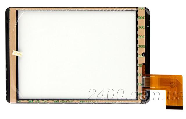Сенсор для планшета Bravis NP844 (черный) MF-637-079F-3 FPC