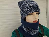 Великолепная шапка зимняя на полуфлисе *кентуки*