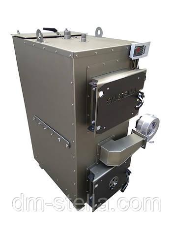 Пиролизный котел с автоматическим удалением золы и пеллетной горелкой 25 кВт, фото 2