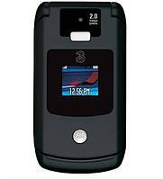 Оригинальный телефон Motorola V3X black