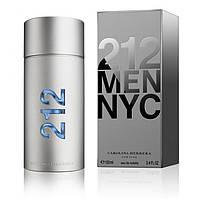 CAROLINA HERRERA 212 NYC men 50ml edt Туалетная вода Оригинал