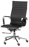 Кресло офисное Solano artleather black, компьютерное, руководителя, черный