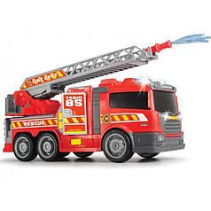 Пожежна машина з водою, світло і звук, вільний хід, 36 див. Dickie 3308371