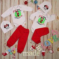 Детский новогодний костюм,бодик и штанишки, 2 цвета!