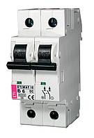 Авт.выключатель  ETIMAT 10  DC 2p  В 25A (6 kA)