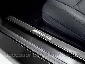Накладки на пороги AMG для Mercedes-Benz CL-Class C216 Новые Оригинальные