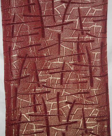 Комплекты на диван и два кресла (дивандеки) Брызги шампанского бордовый, фото 2