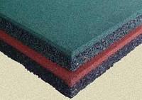 Резиновая плитка 500*500*20 мм.