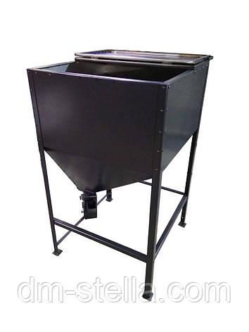 Бункер для пеллеты 1400 литров, фото 2