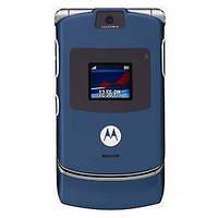 Оригинальный телефон Motorola V3XX Blue