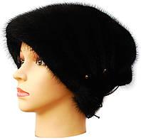 Женская норковая шапка,Бритни (черная)