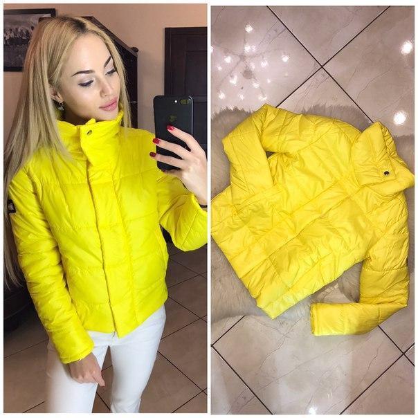 2c8fa5f760a Куртка женская Merry кнопки-липучка ЖЕЛТЫЙ - Товар-Shop в Львове