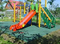 Резиновая плитка для частных детских площадок, фото 1