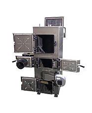 Пиролизный котел с автоматическим удалением золы и пеллетной горелкой 80 кВт, фото 2