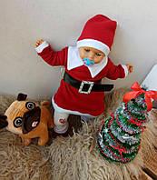 Детский новогодний костюм Снегурочка, платье, пояс, колпак, сапожки!