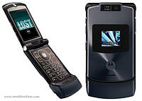 Оригинальный телефон Motorola V3XX Black