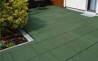Резиновая плитка для удобства Вашего дворика, фото 1