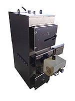 Пеллетный пиролизный котел с системой автовыгрузки золы 120 кВт