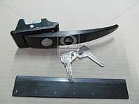 Ручка двери УАЗ 452 передней наружная  в сборе (с замком и ключом) (арт. 452-6105150), AAHZX